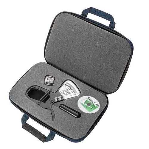 Adipômetro - Plicômetro Clínico Compacto com Planilha de Avaliação e Trena - Cescorf