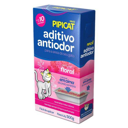 Aditivo Antiodor Kelco Pipicat Floral 500g
