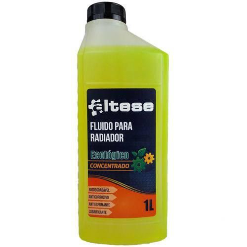 Aditivo para Água do Radiador Altese Ecológico Concentrado Amarelo - 1l