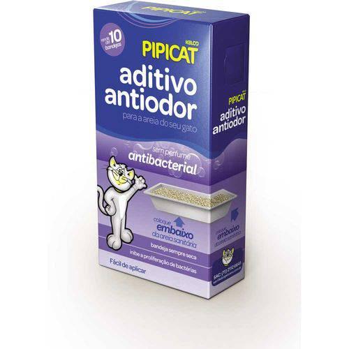 Aditivo para Areia Sanitária Pipicat Bactericida 500G