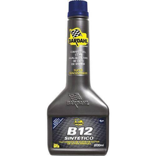 Aditivo para Motor Bardahl B-12 Sintético 200 Ml