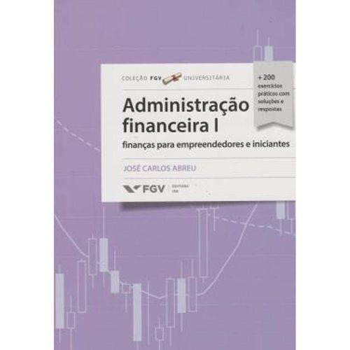 Administracao Financeira I