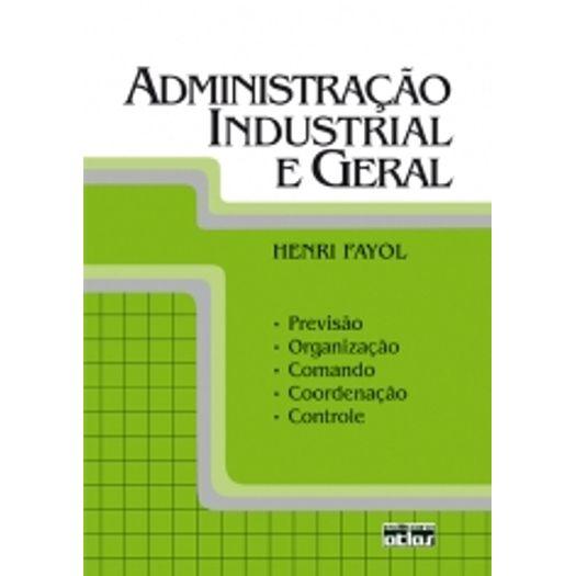 Administração Industrial e Geral