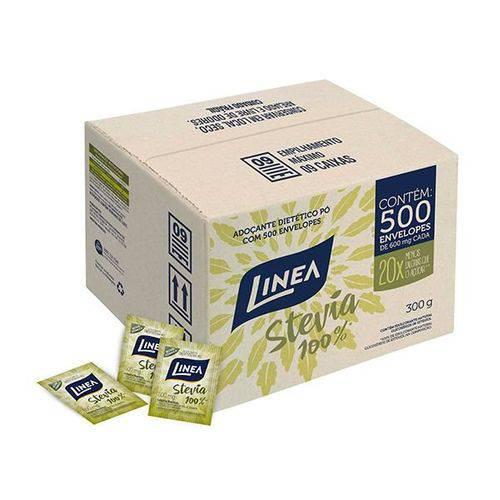 Adoçante 100% Stevia Linea C/ 500 Envelopes de 600mg Cada