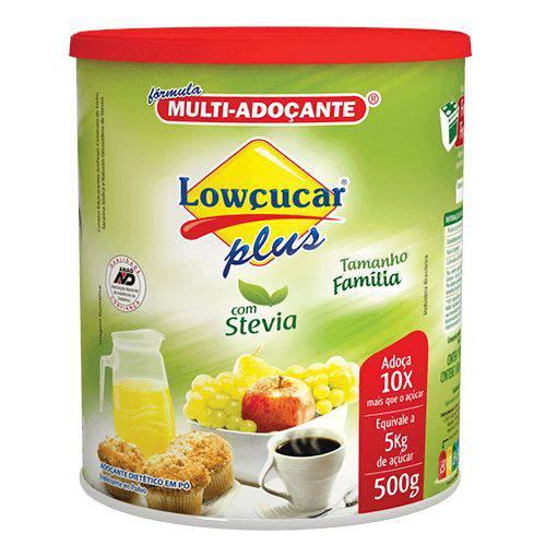 Adoçante com Stevia em Pó - Lowçucar Plus - 500g