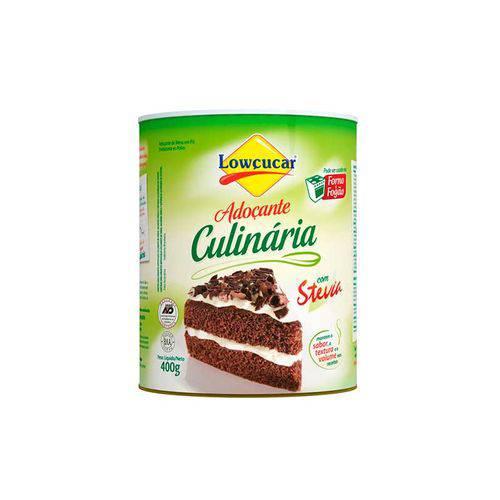 Adoçante Culinária com Stevia em Pó - Lowçucar - Forno e Fogão - 400g