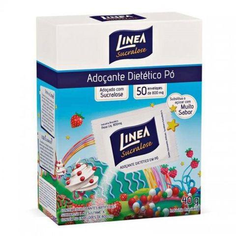 Adoçante Dietético Pó C/50 - Línea
