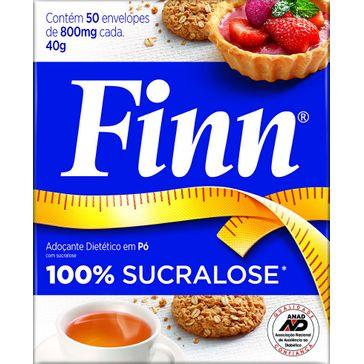 Adoçante Finn Sucralose 50 Envelopes