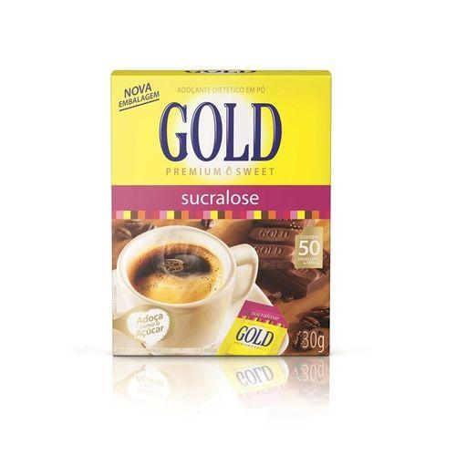 Adoçante Gold Sucralose em Pó 50 Envelópes