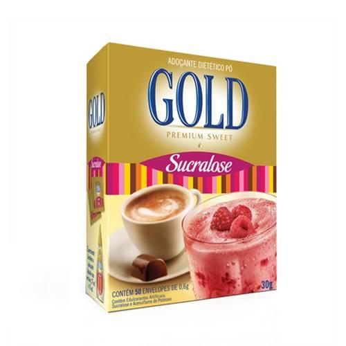 Adoçante Gold Sucralose Pó com 30 Gramarelos