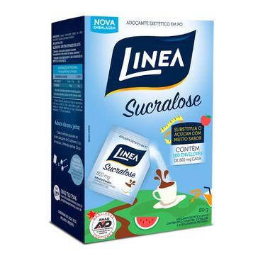 Adoçante Linea 100 Envelopes com Sucralose