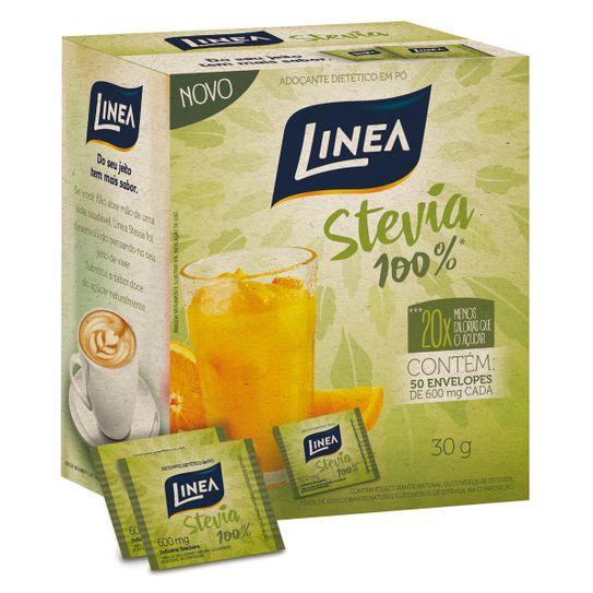 Adoçante Linea Stevia Envelope com 50