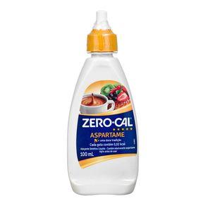 Adoçante Líquido Aspartame Zero Cal 100mL
