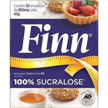 Adoçante Sucralose Finn 50 Envelopes