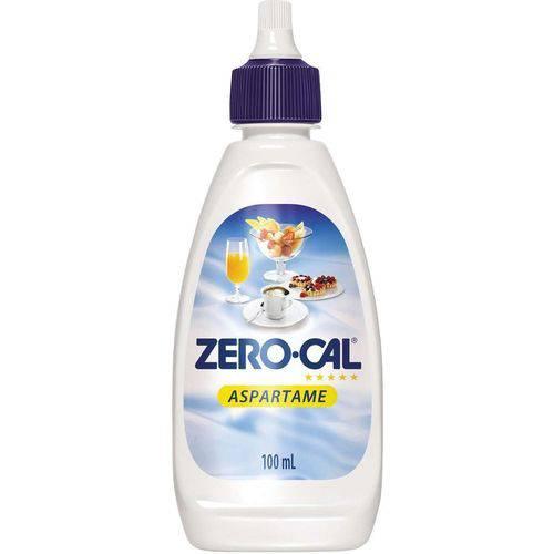 Adocante Zero-cal Aspartame 100ml Comercial Destro