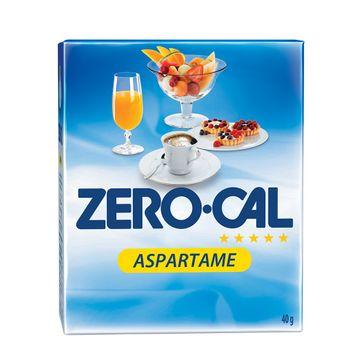 Adoçante Zero Cal Aspartame com 50 Envelopes