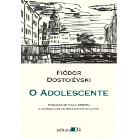 Adolescente, o - Editora 34