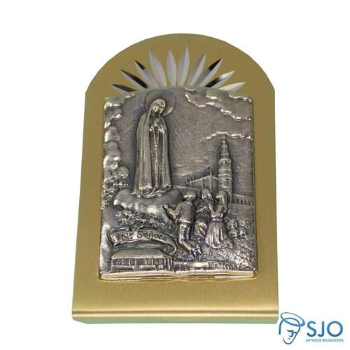 Adorno 6 X 4 de Nossa Senhora de Fátima | SJO Artigos Religiosos