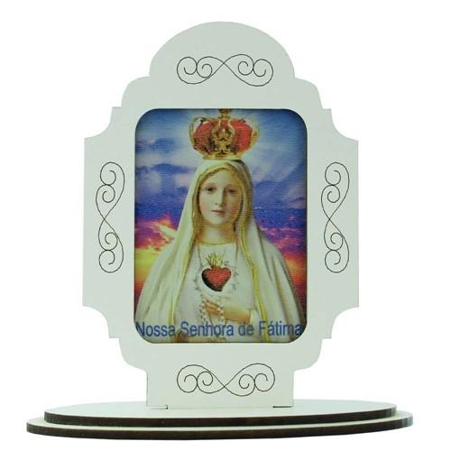 Adorno de Mesa Nossa Senhora de Fátima   SJO Artigos Religiosos