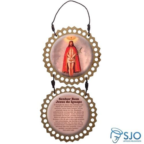 Adorno de Porta Redondo - Bom Jesus do Iguape | SJO Artigos Religiosos