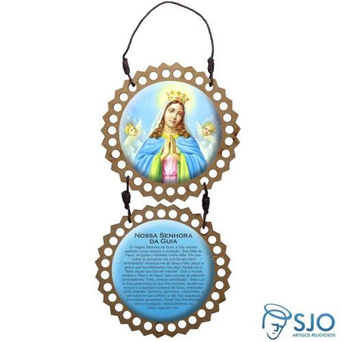 Adorno de Porta Redondo - Nossa Senhora da Guia | SJO Artigos Religiosos
