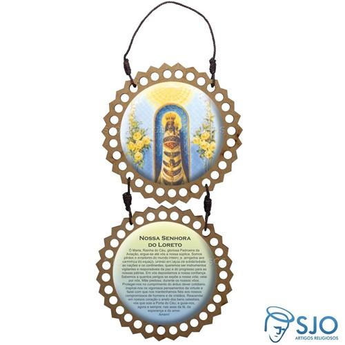 Adorno de Porta Redondo - Nossa Senhora do Loreto | SJO Artigos Religiosos