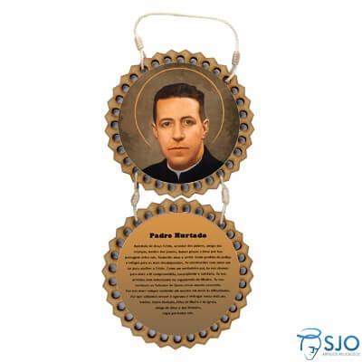 Adorno de Porta Redondo - Padre Hurtado   SJO Artigos Religiosos