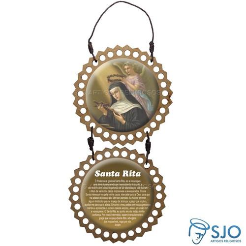 Adorno de Porta Redondo - Santa Rita | SJO Artigos Religiosos