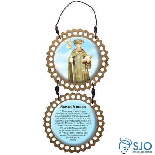 Adorno de Porta Redondo - Santo Amaro | SJO Artigos Religiosos
