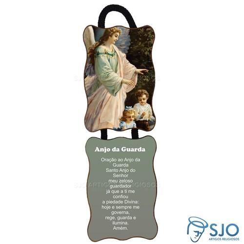 Adorno de Porta Retangular - Anjo - Modelo 01   SJO Artigos Religiosos