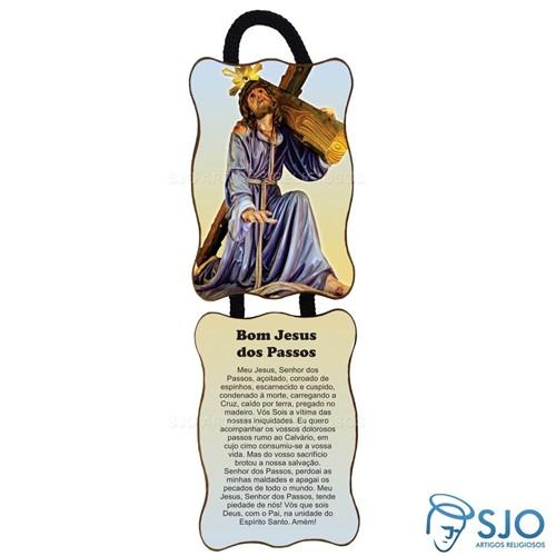 Adorno de Porta Retangular - Bom Jesus dos Passos | SJO Artigos Religiosos