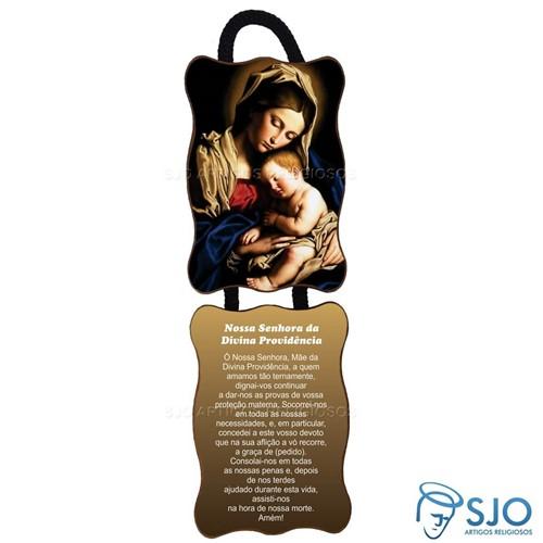 Adorno de Porta Retangular - Nossa Senhora da Divina Providência | SJO Artigos Religiosos