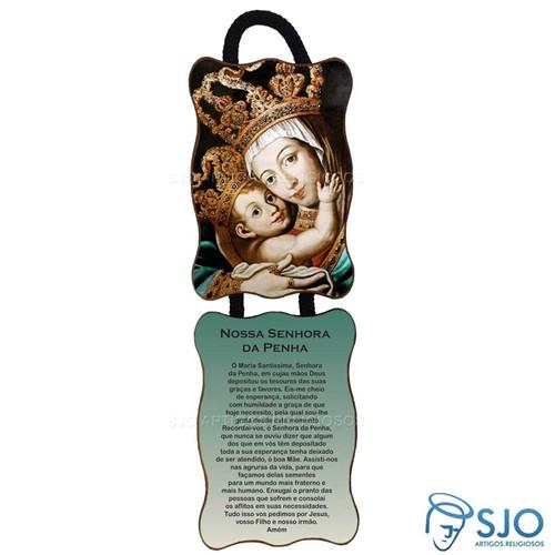 Adorno de Porta Retangular - Nossa Senhora da Penha | SJO Artigos Religiosos