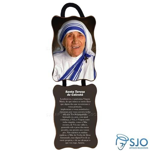 Adorno de Porta Retangular - Santa Teresa de Calcutá | SJO Artigos Religiosos