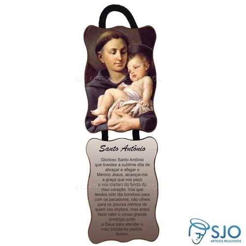Adorno de Porta Retangular - Santo Antônio - Modelo 03 | SJO Artigos Religiosos