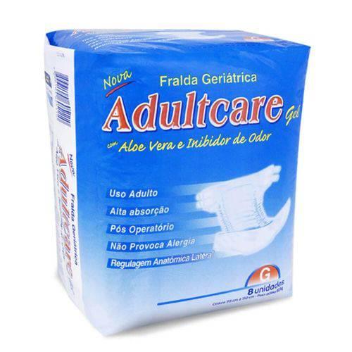 Adultcare Fralda Geriátrica G C/8