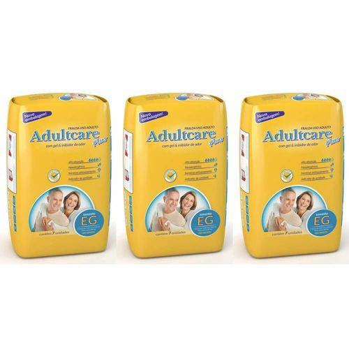 Adultcare Plus Fralda Geriátrica Xg C/7 (kit C/03)