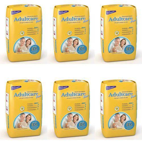 Adultcare Plus Fralda Geriátrica Xg C/7 (kit C/06)