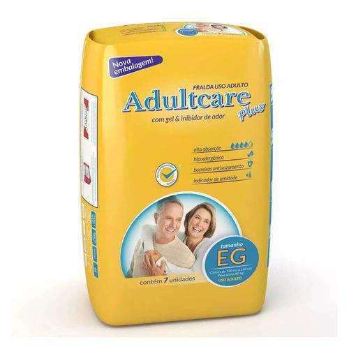 Adultcare Plus Fralda Geriátrica Xg C/7