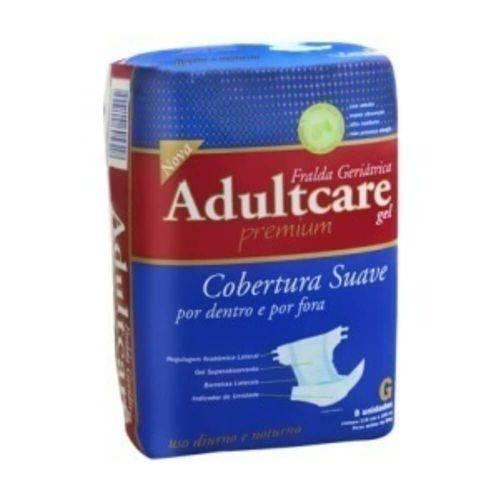 Adultcare Premium Fralda Geriátrica G C/8