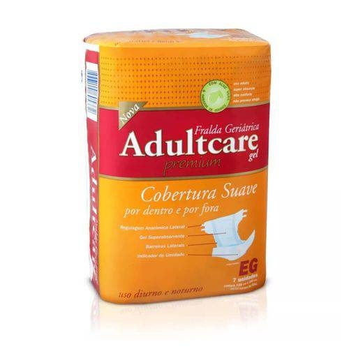 Adultcare Premium Fralda Geriátrica Xg C/7