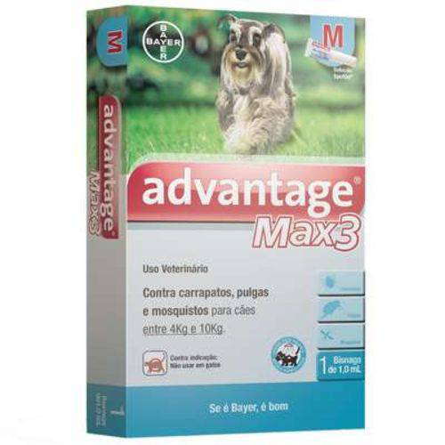 Advantage Max3 (1ML) 4 a 10KG