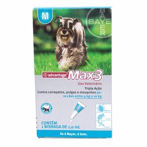 ADVANTAGE MAX 3- para Cães de 4 a 10kg - Pipeta com 1ml