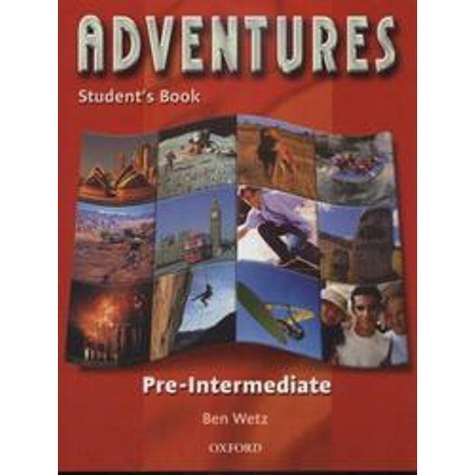 Adventures Pre Intermediate Student Book - Oxford