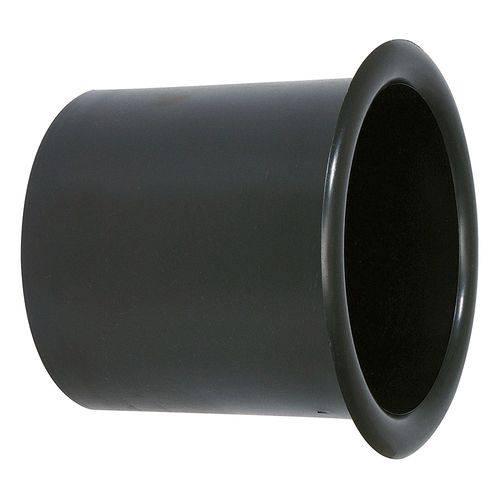 Aero Duto Permak 4 Polegadas Plástico Especial para Acabamento de Caixa de Som - Preto
