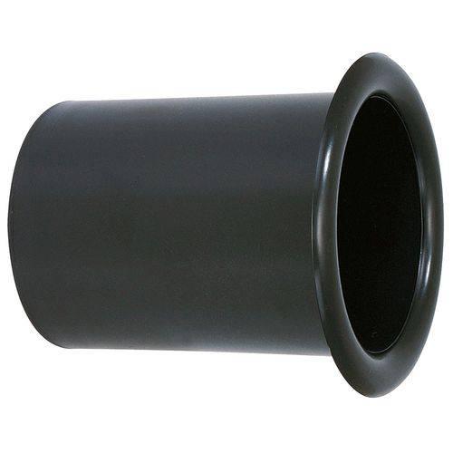 Aero Duto Permak 3 Polegadas Plástico Especial para Acabamento Caixa de Som Permak Preto