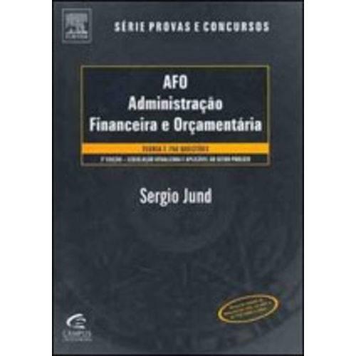 Afo - Administracao Financeira e Orcamentaria - 03 Ed