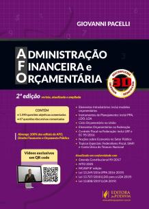 AFO - Administração Financeira e Orçamentária - 3D (2019)