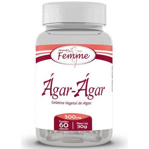 Ágar Ágar 60cps 500mg Apisnutri