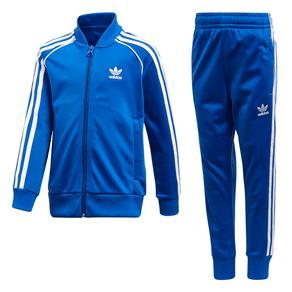Agasalho Adidas Trf Sst Azul Infantil 4-5